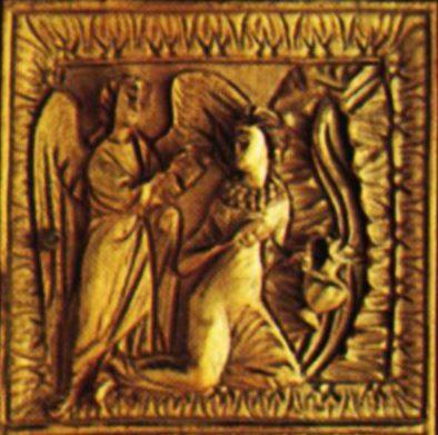 Оклад Евангелия. 2-ая пол. V в. Сокровищница Дуомо, Милан